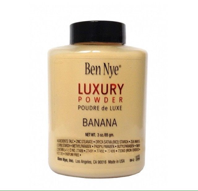 Ben Nye Banana Luxury Powder 3 oz BV Bottle Face Makeup Kim Kardashian Authentic  | eBay
