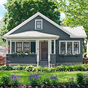 How To Update A Small Home Without Pro Craftsman Exteriorcottage Exteriorcraftsman Styleexterior Colorterior Painthome Design Decorhome