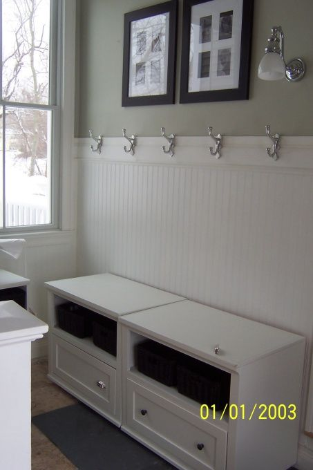 Ikea Kitchen Island With Drawers ~ Basic mudroom  might be able to get away with this cheap using bench