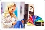 Color swatches and color analysis right navbar banner