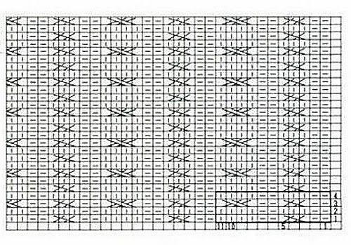 Atelier Rozmaitości: Zimowa poszewka na poduszkę na drutach + schemat