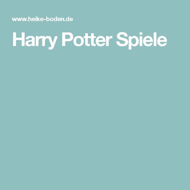 Harry Potter Spiele
