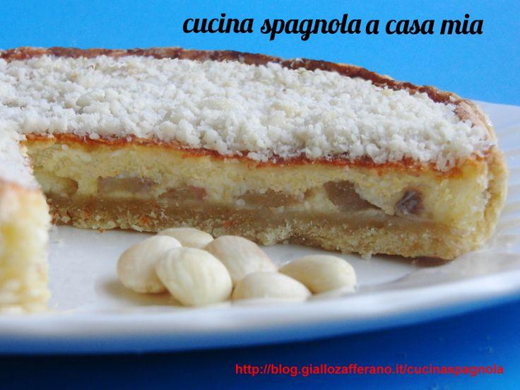 torta di frutta con formaggio di capra
