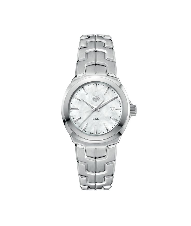 Link 100 M - 32 mm White MOP dial WBC1310.BA0600 TAG Heuer watch price