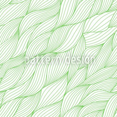 Rusalkas Braided Hair In Spring by Irina Timofeeva available as a vector file on patterndesigns.com