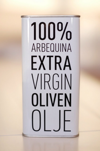 Arbequina Olive Oil | packaging