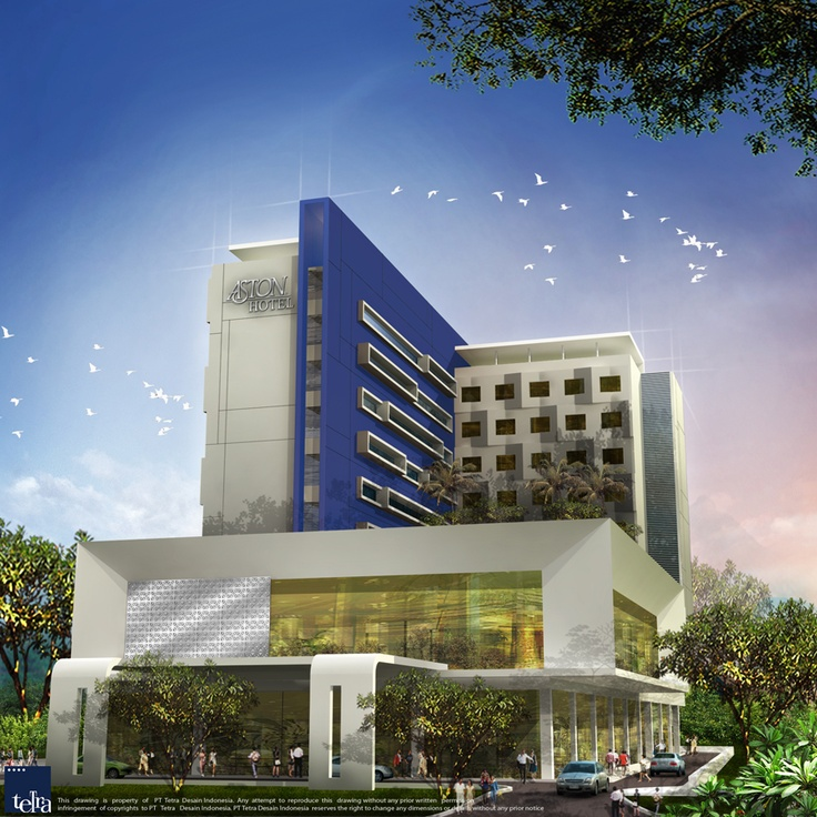 3D Atria Hotel and Conference Magelang (front view)