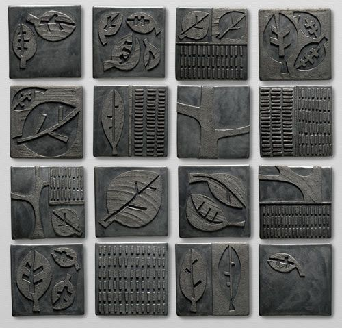 Nell Devitt Clay Tiles :: Portfolio :: View Square