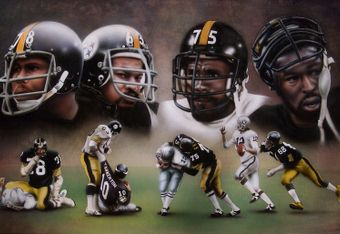 headlines from the 70's | the steel curtain was the nickname given to the famous