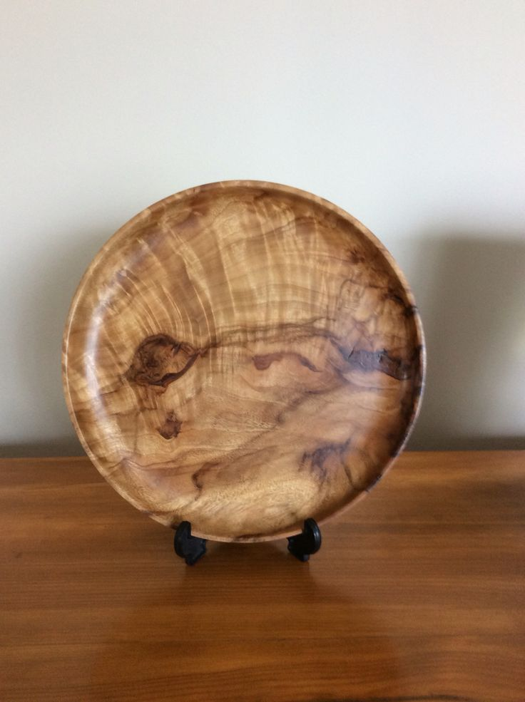 Camphor Laurel platter - 250mm diameter