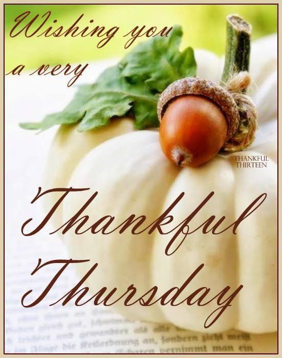 Have A Thankful Thursday Greetings More Thursday