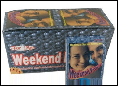 Weekend prince causes an increase in the body's level of nitric oxide, which helps recover the natural response of blood vessels that irrigate the penis, increase sexual desire, induce recovery of erectile function, etc. @ http://www.pillsforneed.com/sex-pill-make-penis-bigger/weekend-prince.html
