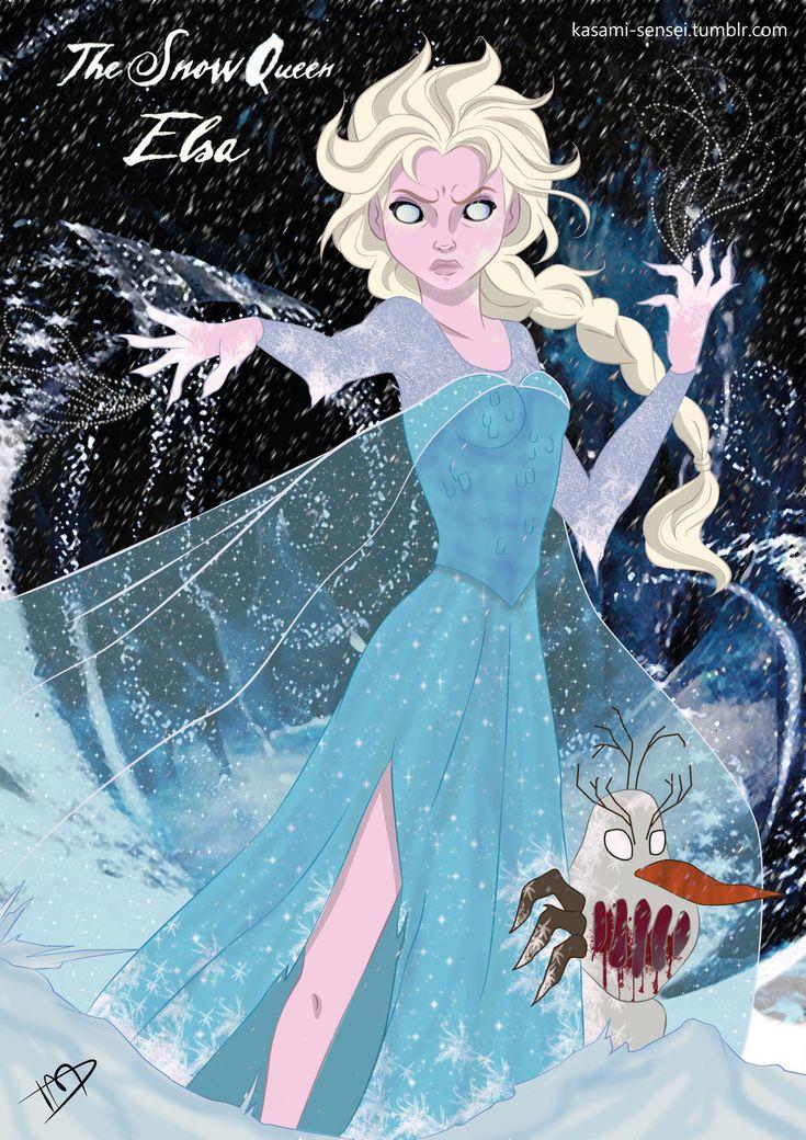 Twisted Elsa by Kasami-Sensei.deviantart.com on @deviantART