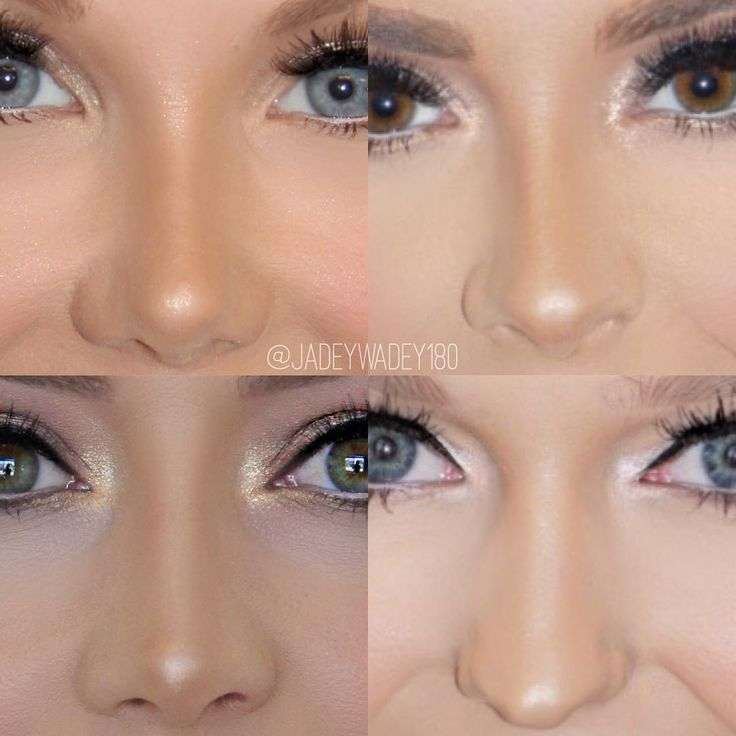 """""""- The Non surgical nose job - It's a real thing! I love enhancing my clients features to give the illusion of a more symmetrical/defined nose and face •…"""""""