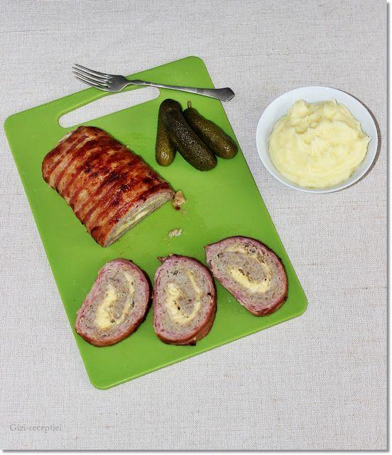 Gizi-receptjei.  Várok mindenkit.: Stefánia sajttal és baconnel.