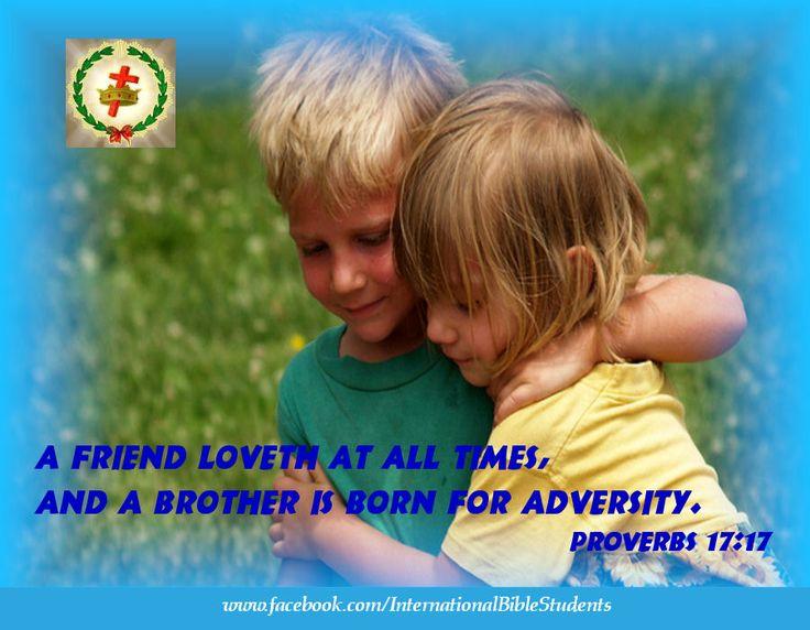 Proverbs 17:17 Love, friend
