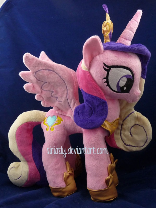 "Princess Cadence 16"" Custom My Little Pony Embroidered Minky Plush Cadance | eBay"