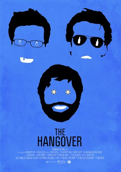 The Hangover - minimal movie poster