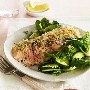 Horseradish Salmon Recipe - Good Housekeeping