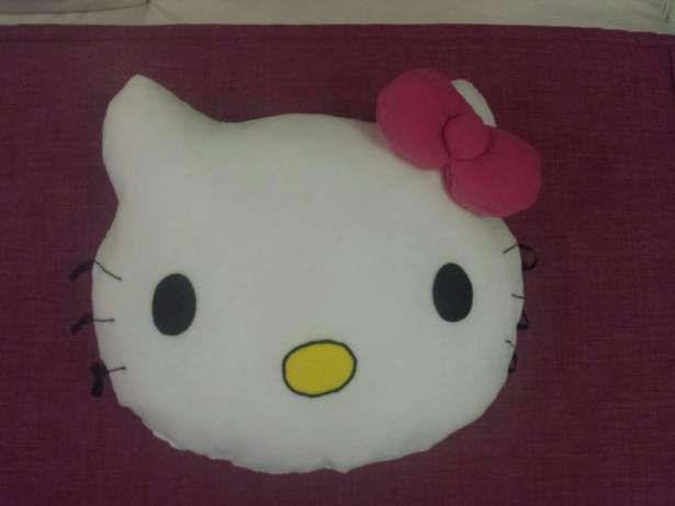 Poduszka Przytulanka Duża Duży Kot Hello Kitty Polar Minky na Prezent Pilica - image 1