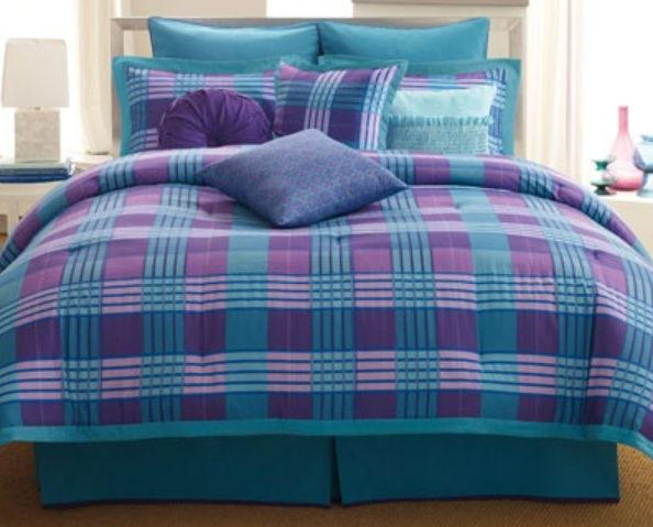 Bedding •~• blue & purple