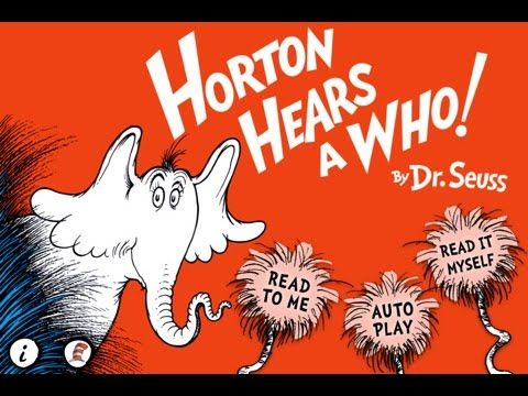 Horton Hears a Who! - Dr. Seuss - best app for kids - full movie/book - ...