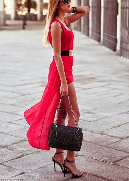 Red Style for Summer