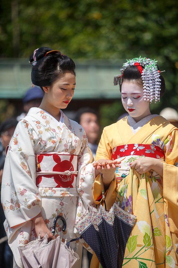 Mamefuji and Katsusen during Hogoku Matsuri