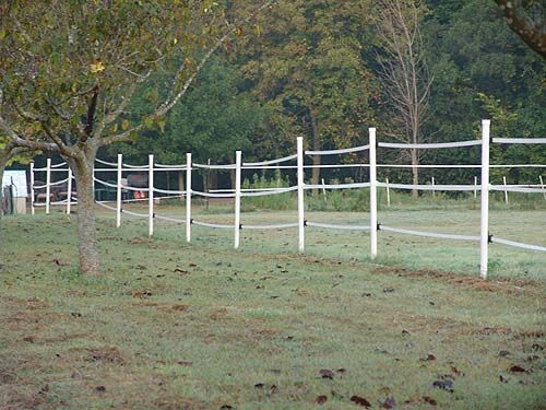 Making A Fence Out Of Pvc Pipe Electric Fence On T Posts
