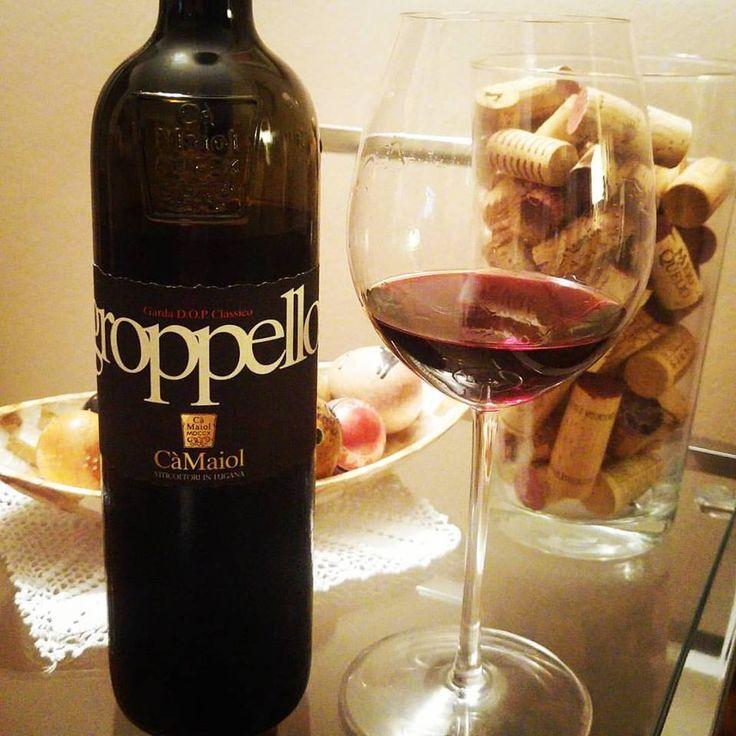 """Groppello Garda D.O.P. Classico. De repente você está diante de um vinho feito a partir de uma """"nova"""" casta. A casta deste vinho é a Groppello. Lindo na taça, um belíssimo tom cereja. Os aromas são um desafio. Sente-se frutas vermelhas frescas, com um fundo floral e menta. Na boca corpo médio, persistência e um paladar de deixar saudade.  Compre em: 👉 https://vivaovinho.shop/ #vinho #vivaovinhoshop #fotooficialvov #groppello #italia #vinhositalianos…"""