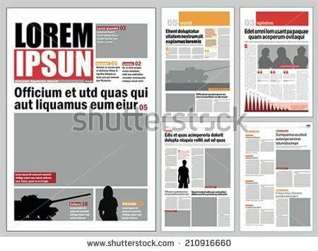 The 35 Best Newspaper Design Images On Pinterest Journal Design