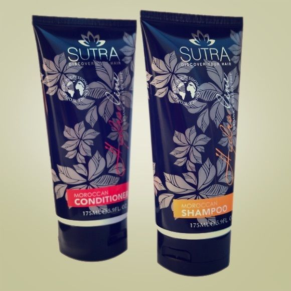 Sutra Shampoo & Conditioner Brand New, sealed. Hydro line Moroccan Shampoo & Moroccan Conditioner. Organic and Sulfate-Free. Sutra Accessories Hair Accessories