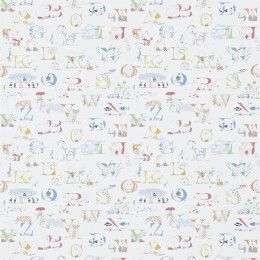 Sanderson Alphabet Zoo Wallpaper 214024