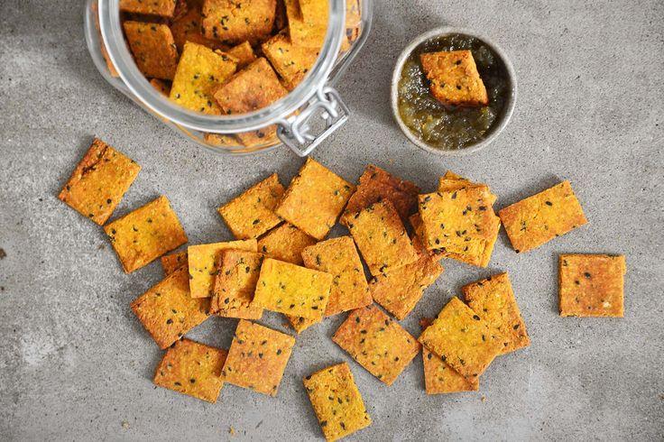 Cracker salgado (sem glúten e integral) – Tempero Alternativo