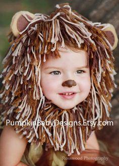 fantasia de leão para criança fácil. easy diy lion costume