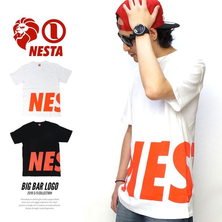 ネスタブランド NESTA BRAND Tシャツ メンズ BIG BAR LOGO :5v4127:DEEP B系・ストリートファッション - 通販 - Yahoo!ショッピング