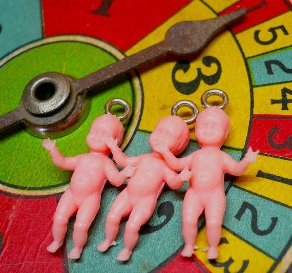 3pcs 60s Vintage TINIEST BABY CHARMS Penny by cOveTableCuriOsitIEs, $6.50