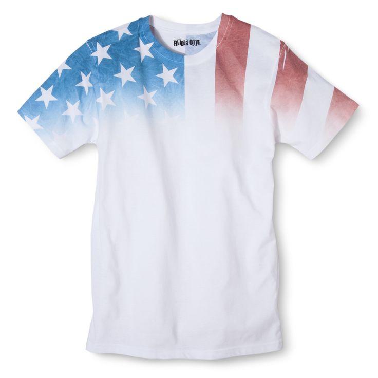 American Flag Men's T-Shirt : Target
