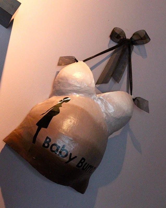 me hubiera encantado hacermelo con la panza de facu Recuerdo 3d De Tu Embarazo Original, Baby Shower Souvenir