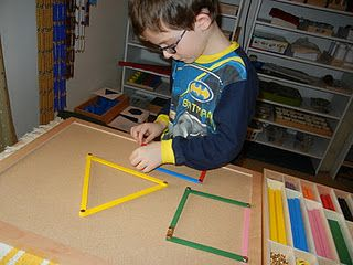 Montessori geometry post with lots of links to helpful stuff