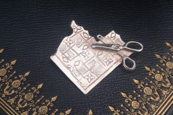 Silver Brooch Handmade silver Silver pin handmade pin