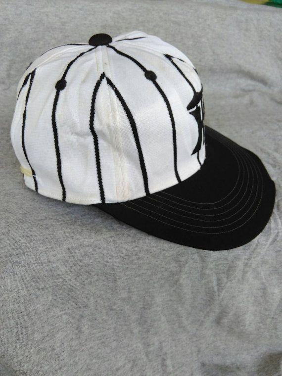 Vintage Hanshin Tiger Stripes Hat Cap Baseball Team Japan Free Shipping by ArenaVintage