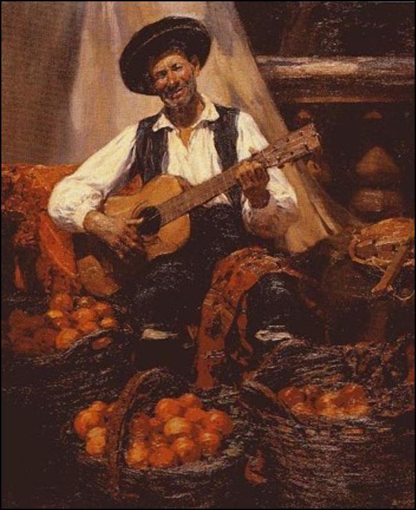 José Benlliure. El naranjero