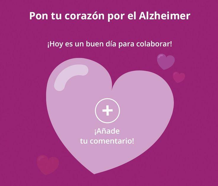 #PonTuCorazónPorElAlzheimer https://www.facebook.com/KnowAlzheimer/app/210349742476495/