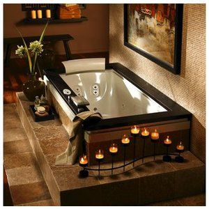 A Day at The Spa at Home with Luxury Whirlpool Tubs