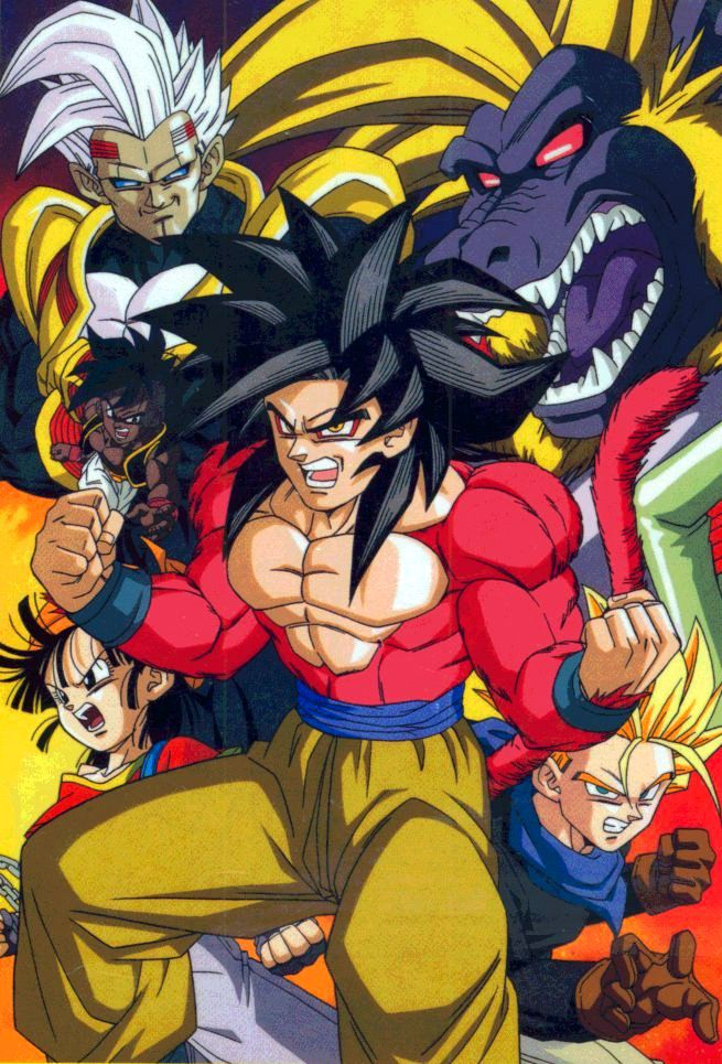 Goku, Pan, Trunks, Uub, and Baby Vegeta. I kno this is gt but I find these characters cool. Might make a gt board