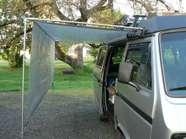 Image result for diy camper awning