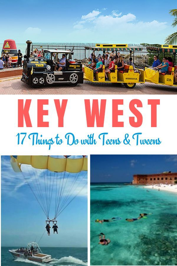 Key West With Teens Tweens And Kids Travelingmom Beach Vacation Travel Florida Vacation Best Island Vacation