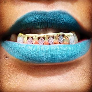 #URBANGOODS Pinterest - @houstonsoho | Gold Diamond Playing Cards Insert #6BOTTOM #GRILL