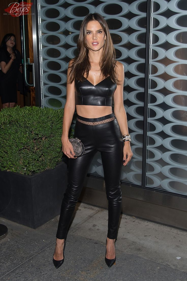 Alessandra Ambrosio Celebrity Sightings during NYFW In New ...